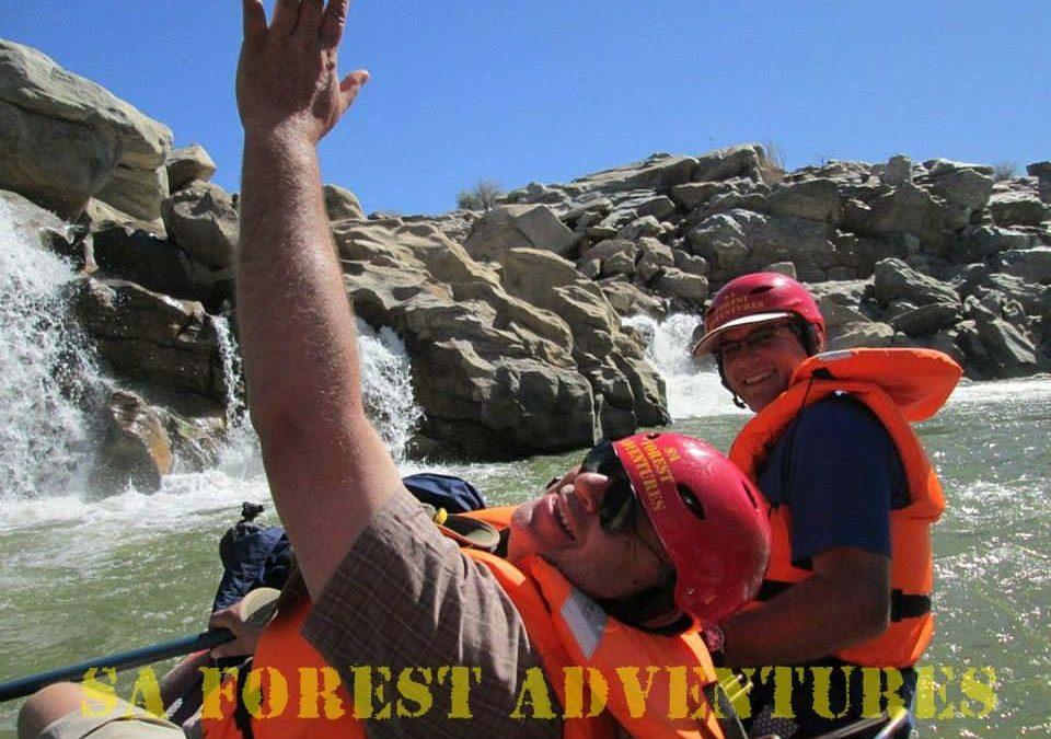 Orange River Rafting -The Orange River Gorge