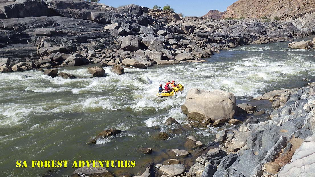 Orange River Rafting Rapids