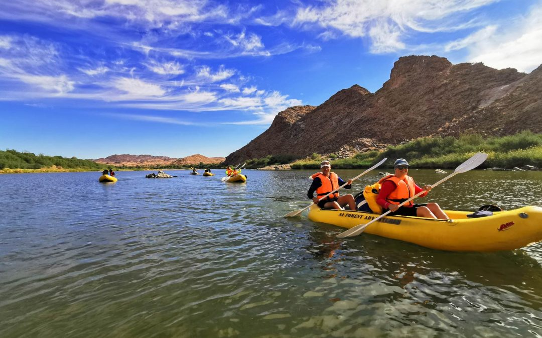 Our Orange River Rafting Trip – A review by Melissa