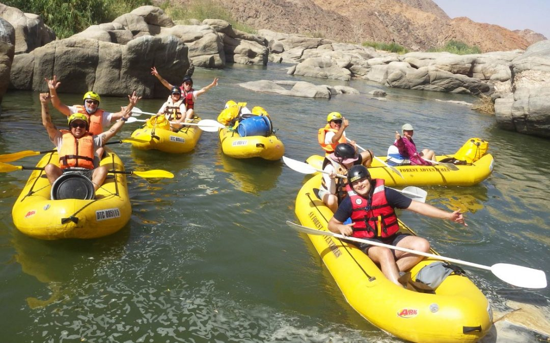 A great Orange River Rafting Adventure Trip