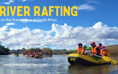 When is the best time of year for an Orange River rafting trip in South Africa